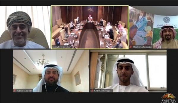 برئاسة الأمير عبدالعزيز بن طلال مجلس إدارة أجفند يقر عددًا من المشروعات