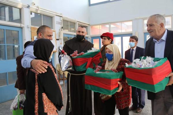 اللواء الفارس تسلم بيت الاجداد مكرمة رئاسية وتؤكد الاهتمام بفئة المسنين