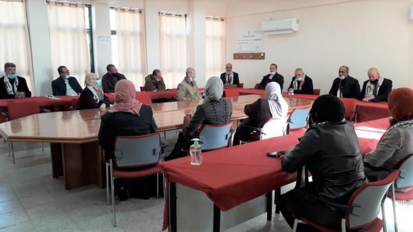 تربية سلفيت تكرّم المشاركين في إعداد الحصص التعليمية ومسابقة معلم فلسطين