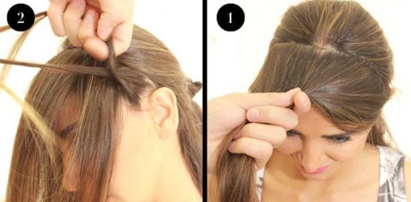 كيفية عمل ضفيرة الشعر الأمامية خطوة بخطوة