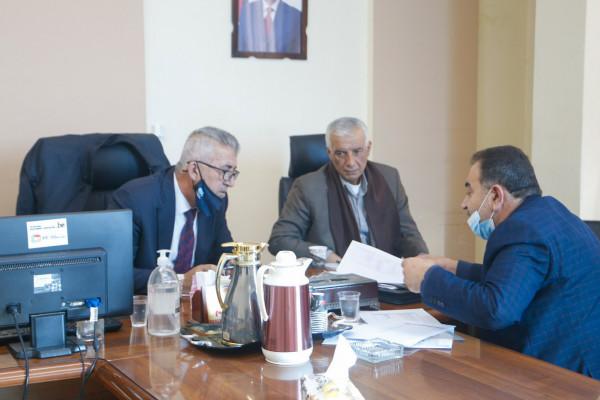 رئيس البلدية يلتقي وزير الحكم المحلي