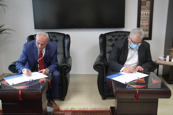 سلطة المياه وقطر الخيرية توقعان مذكرة تفاهم لتنفيذ مشاريع مائية بقطاع غزة