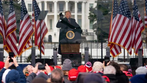 ترامب يوجه دعوة للأمريكيين بعد أنباء التظاهر بيوم تنصيب بايدن