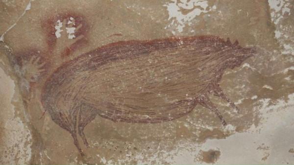 شاهد: أقدم فن صخري في العالم يرجع عمره لأكثر من 40 ألف عام