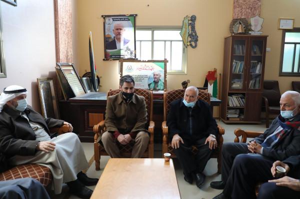د. بحر يزور عائلة الشهيد النائب سعيد صيام ويؤكد المضي على دربه لتحرير فلسطين