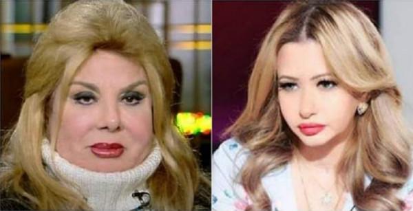 """فادية عبد الغني تهاجم مي العيدان """" حقودة ومغلولة من الفنانين المصريين"""""""