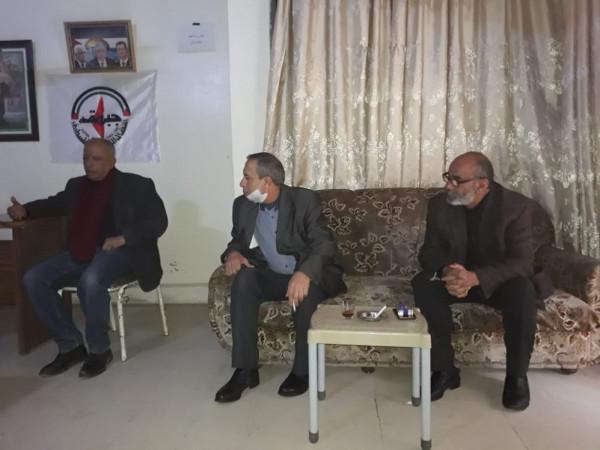 النضال الشعبي تستقبل وفداً من الحزب القومي الاجتماعي السوري