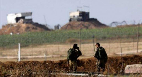 جيش الاحتلال يُطلق النار تجاه أراضي المواطنين شرق قطاع غزة