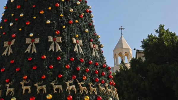 بيت لحم تحتفل بعيد الميلاد المجيد حسب التقويم الأرمني
