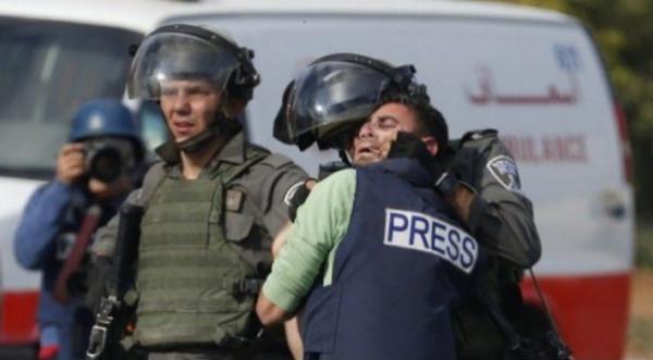 نقابة الصحفيين: 490 انتهاكا إسرائيليا بحق الصحفيين في العام 2020