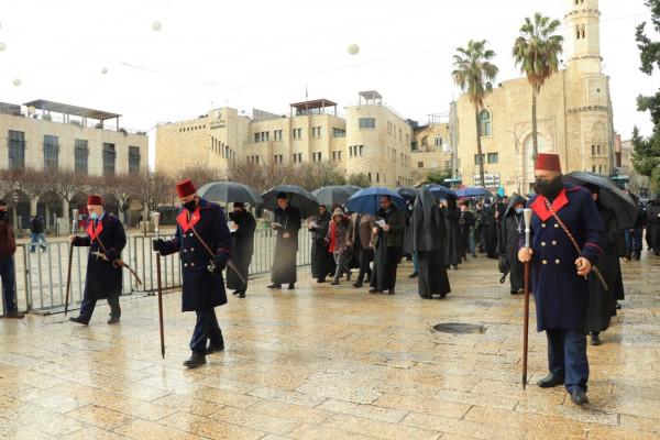 الكنيسة الأرمنية تحتفل بعيدي الميلاد والغطاس