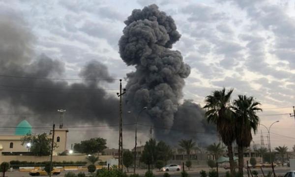 قتلى وجرحى بقصف أميركي للحشد الشعبي في العراق