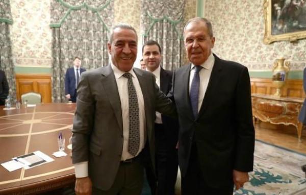 الخارجية الروسية تكشف تفاصيل اجتماع لافروف وحسين الشيخ في موسكو
