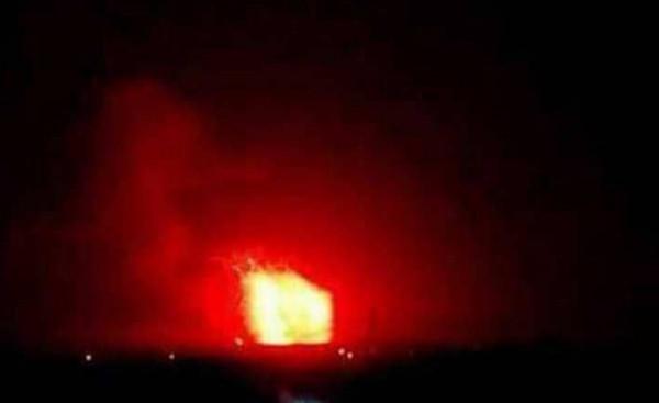 (سانا): وقوع انفجار في صهريج بالشركة السورية لنقل النفط الخام بحمص