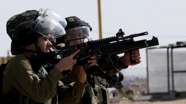 إصابة شاب برصاص الاحتلال جنوب قلقيلية