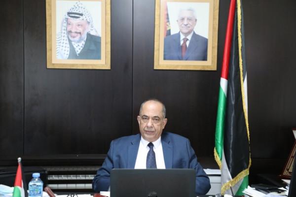"""وزير العدل يشارك في اجتماع مجلس إدارة برنامج """"سواسية المشترك2 """""""