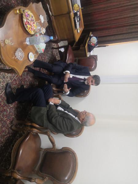عبد الهادي يبحث مع الأمين العام للقيادة الفلسطينية لحزب البعث العربي الاشتراكي آخر المستجدات