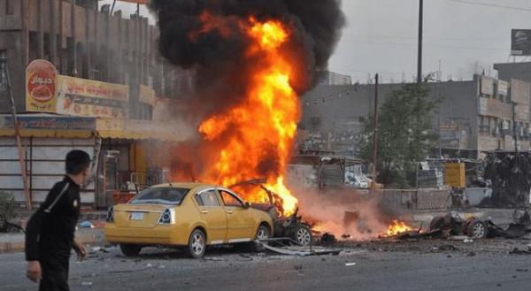 28 قتيلًا في تفجير مزدوج وسط بغداد