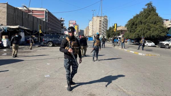 حماس تدين التفجير الانتحاري المزدوج وسط بغداد