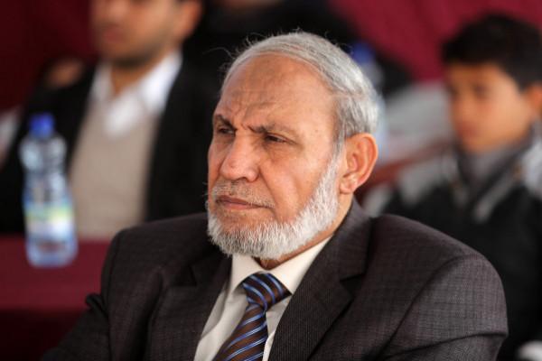 الزهار: لابد من تجديد الرئاسة ويجب الاتفاق على ضمانات لإجراء انتخابات متتالية