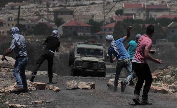 إصابة شاب برصاص الاحتلال خلال قمع الاحتلال مسيرة كفر قدوم
