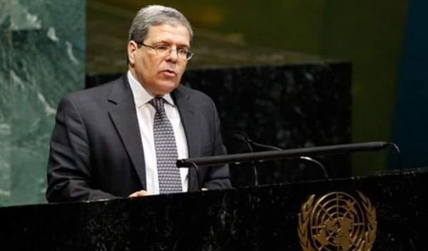 وزير الخاريجة التونسي يؤكد استعداد بلاده الدائم لتقديم للمساعدة الشعب الفلسطيني