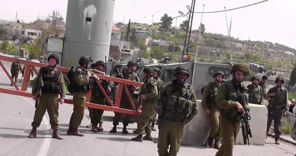 نابلس: إجراءات أمنية مشددة للاحتلال على حاجز حوارة