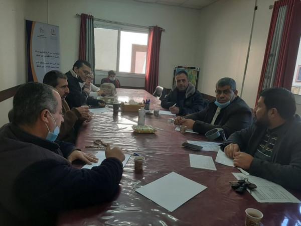 مؤسسات الإعاقة بغزة تجتمع لمناقشة الاستحقاق الانتخابي