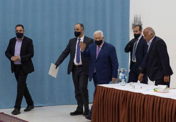 مركزية (فتح) تعقد اليوم اجتماعًا برئاسة أبو مازن