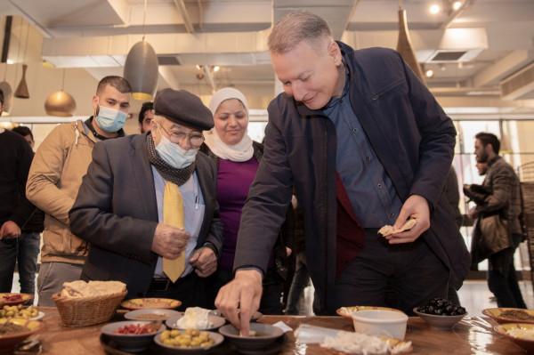 مجلس الزيتون الفلسطيني ينظم فعالية لتذوق منتجات الزيتون في روابي