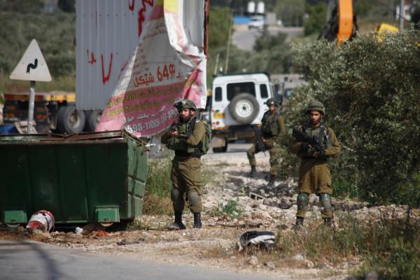 """جنين: قوات الاحتلال تقتحم المنطقة الجنوبية لصانور وموقع """"ترسلة"""" وسط اندلاع مواجهات"""