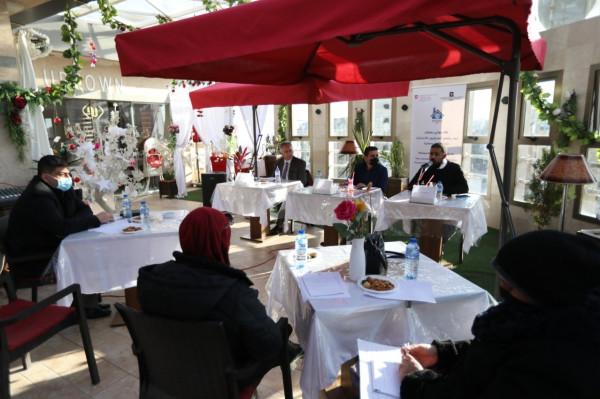 بيت الصحافة يعقد لقاءً حواريًا بمشاركة لجنة الانتخابات المركزية جنوب قطاع غزة