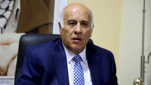 الرجوب: نريد تشكيل مجلس وطني يضم الكل الفلسطيني.. وفتح ستخوض الانتخابات التشريعية كقائمة واحدة