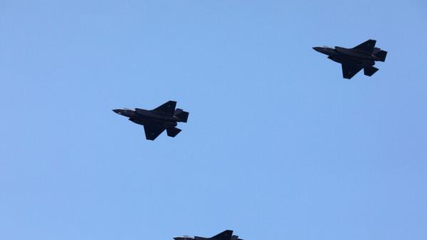 تحليق مكثف للطيران الحربي الإسرائيلي في أجواء لبنان