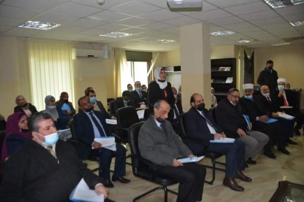 قضاة ومحامون شرعيون يؤكدون على ضرورة إصدار قانون القضاء الشرعي الفلسطيني