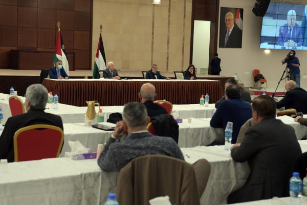 الرئيس عباس: مصممون على إنجاز الانتخابات وحوار القاهرة بعد أقل من أسبوع