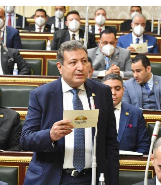 طارق شكري يرفض تدخل الكونجرس الأمريكي في الشأن الداخلي المصري