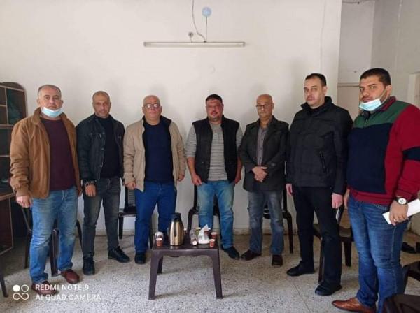 """""""قيادة إقليم شرق غزة"""" تجتمع بمنطقة شهداء إجديدة التنظيمية"""