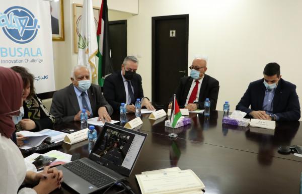 المجلس الأعلى للإبداع والوكالة الفلسطينية للتعاون الدولي يعلنان نتائج تحدي بوصلة للإبداع