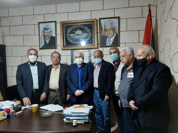 لجنة المتابعة المركزية للجان الشعبية بمخيمات لبنان تلتقي دائرة شؤون اللاجئين