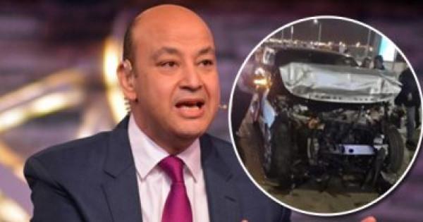 شاهد عيان يروي تفاصيل حادث السير المروع للإعلامي عمر أديب