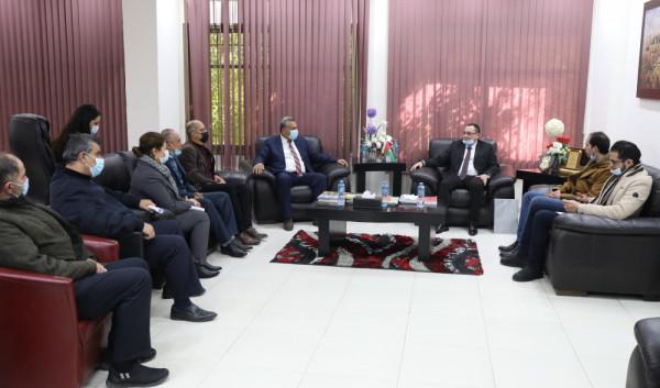 """""""خضوري"""" تستقبل سفير جمهورية نيكاراغوا لبحث سبل التعاون الأكاديمي"""