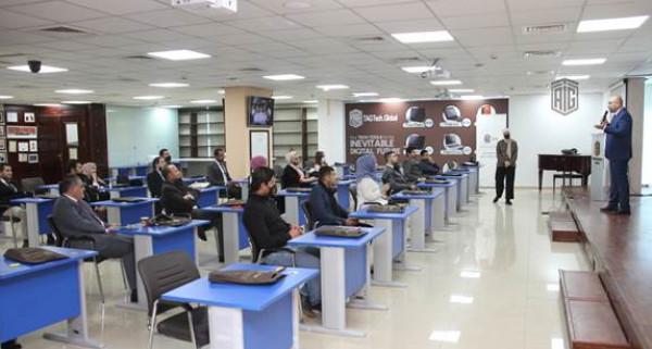 """""""طلال أبوغزاله العالمية"""" تنظم ورشة تعريفية بنشاطاتها لموظفيها الجدد"""