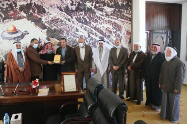 المجلس العلمي يستقبل مركز شباب الزمالك الفلسطيني ولجنة أصدقاء مجمع ناصر الطبي