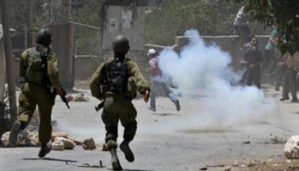 الأغوار: إصابة العشرات بمواجهات مع الاحتلال في منطقة عين الساكوت