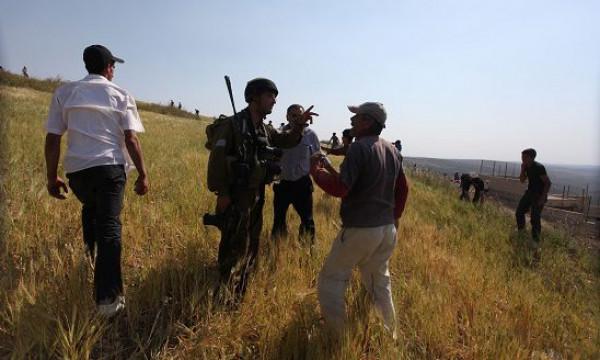 أهالي عصيرة القبلية يصدون هجومًا للمستوطنين