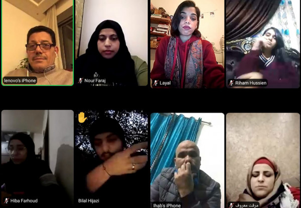 منتدى الشباب الثقافي الاجتماعي يعقد جلسة حوارية عبر تطبيق Zoom