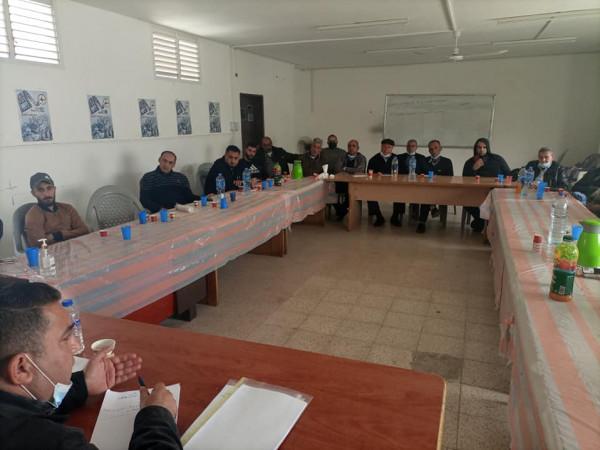 النضال الشعبي تعقد اجتماعاً موسعاً لكوادرها بكافة مناطق طولكرم تحضيراً للانتخابات