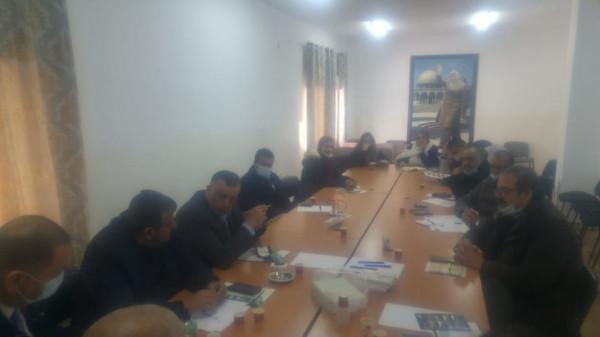 المجلس الحركي للعمل الأهلي برام الله يعقد اجتماعاً حول قانون الجمعيات الخيرية