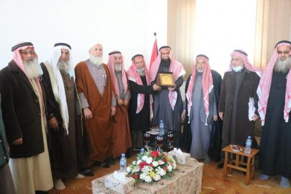 """المجلس العلمي يستقبل وفداً من جمعية """"دار الكتاب والسنة"""""""